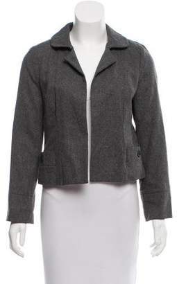 Marc by Marc Jacobs Wool Open Front Blazer