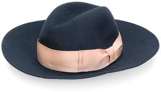 Borsalino wide brim trilby hat