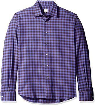 Mason Men's Long Sleeve Woven Check Shirt