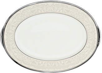 """Noritake Silver Palace"""" Small Oval Platter"""