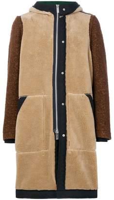 Sacai hooded coat
