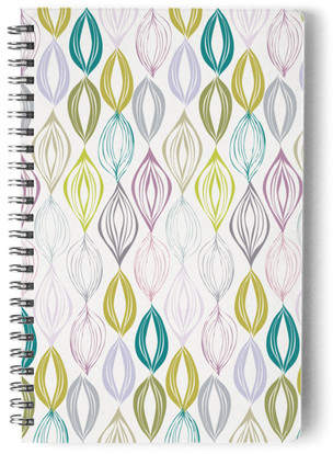 Organic Leaves Self-Launch Notebook