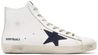 Golden Goose White Francy High Top Sneakers