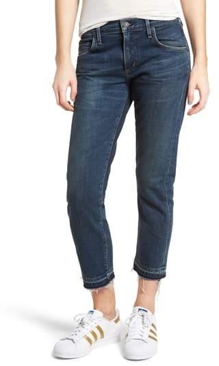 Emerson Released Hem Slim Boyfriend Jeans
