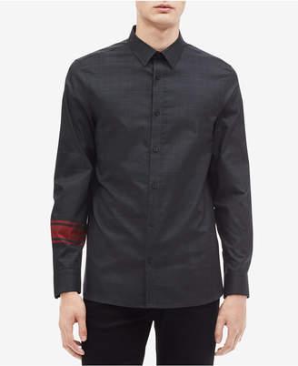 Calvin Klein Men's Glen Plaid Shirt