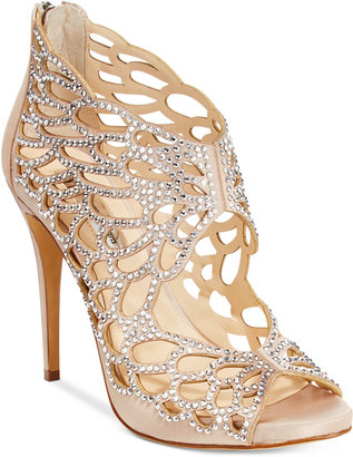 INC International Concepts Sarane Evening Sandals, Only at Macy's $129.50 thestylecure.com