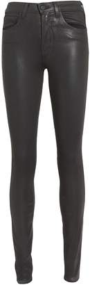 L'Agence Marguerite Coated Skinny Jeans