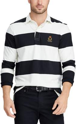 Chaps Men's Classic-Fit Colorblock Rugby Shirt