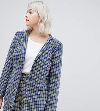 Unique21 Hero tailored checked blazer