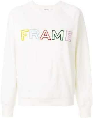 Frame ロゴ スウェットシャツ