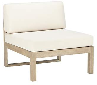 John Lewis St Ives Outdoor Single Modular Lounge Chair, FSC-certified (Eucalyptus Wood), Natural