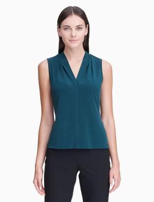 Calvin Klein solid v-neck cami top