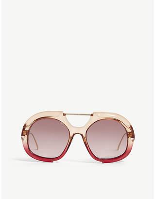 09c8b0a3c1b30 Fendi Pink Women s Eyewear - ShopStyle