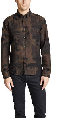 Billy Reid Peacock Shirt