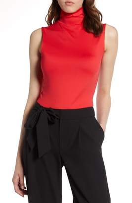 Halogen Mock Neck Shell Top