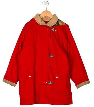 Fay Girls' Reversible Short Coat