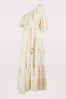 Lisa Marie Fernandez Arden ruffle dress