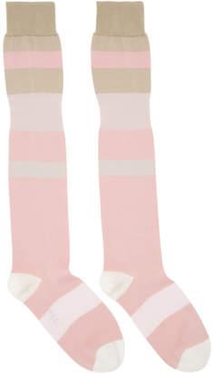 Marni Multicolor Striped Socks