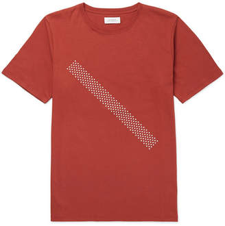 Saturdays NYC Printed Cotton-Jersey T-Shirt