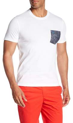 Original Penguin Crew Neck Floral Pocket Tee