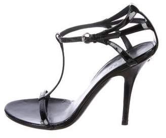 Gucci GG T-Strap Sandals