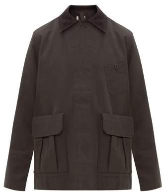 Snow Peak Tabiki Patch Pocket Ripstop Jacket - Mens - Black