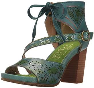 Spring Step L'Artiste by Women's Sujala-blu Dress Sandal