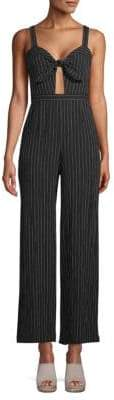 Lexy Striped Bow Jumpsuit