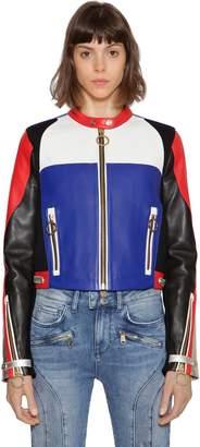 Tommy Hilfiger Gigi Hadid Speed Leather Moto Jacket