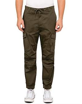 Armani Exchange Cropped Tapered Modern Cargo Pant