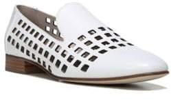 Diane von Furstenberg Linz Leather Cut-Out Loafers