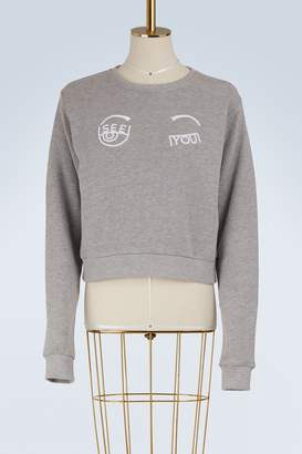 Chiara Ferragni See you cotton sweatshirt