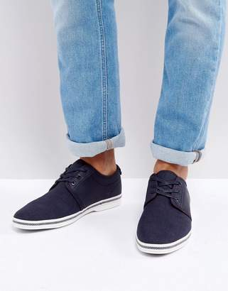 Aldo Adrauni Lace Up Shoes In Navy