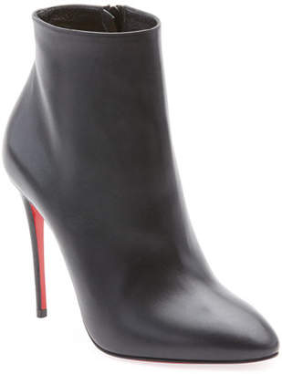 Christian Louboutin Eloise Leather Red Sole Bootie