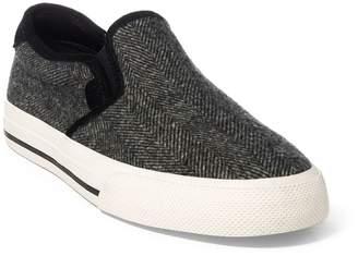 Ralph Lauren Vaughn Herringbone Sneaker