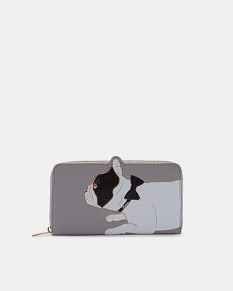 Ted Baker RUMI Cotton Dog leather matinee purse