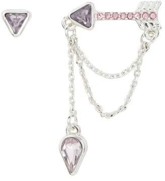 Juicy Couture EAR CLIMBER With DANGLE EARRINGS