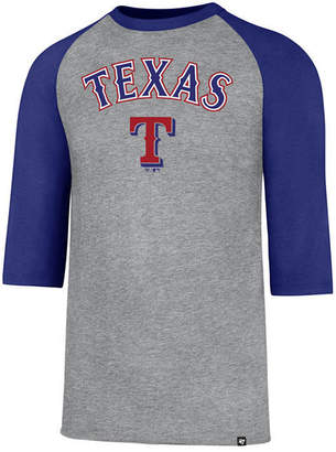 '47 Men's Texas Rangers Pregame Raglan T-shirt