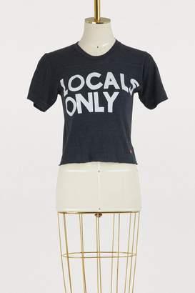 Aviator Nation Locals only boyfriend T-shirt