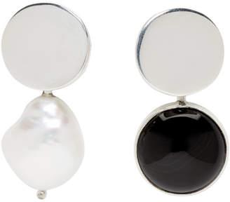 Nica Faris Silver Earrings
