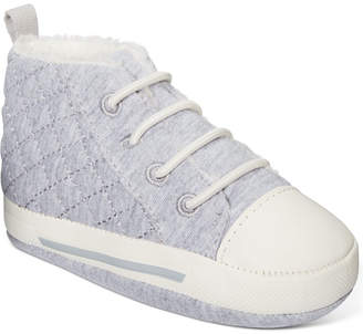 First Impressions Baby Boys Sneakers With Faux-Sherpa Lining