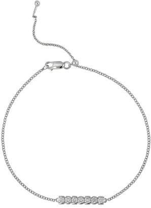 Bony Levy 18K White Gold Diamond Bar Bracelet - 0.23ctw