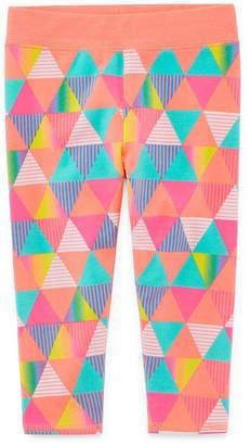 Okie Dokie Yoga Legging Pull-On Pant - Baby Girl NB-24M