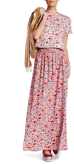 Love Moschino LOVE Moschino Floral Pocket Skirt