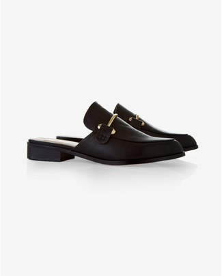 Express Metal Embellished Slide Loafers $49.90 thestylecure.com