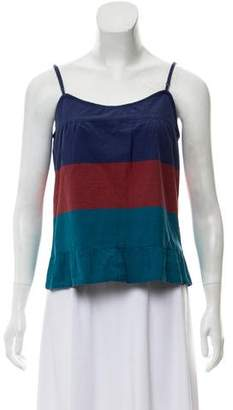 Marc by Marc Jacobs Sleeveless Ruffled Top