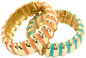 Kenneth Jay Lane Gold Metal Bracelet