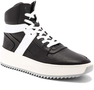 Fear of God Leather Basketball Sneakers