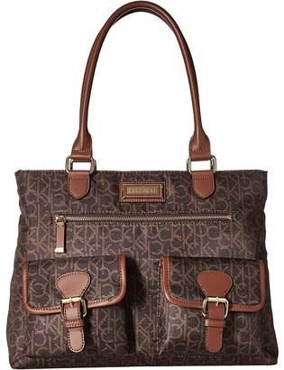 Calvin Klein Belfast Key Item Nylon Tote Tote Handbags