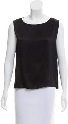 Ungaro Emanuel by Sleeveless Scoop Neck Top